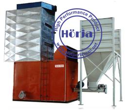 Furnace untuk vertical dryer
