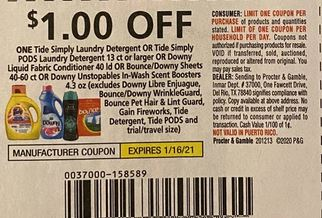 tide insert coupon