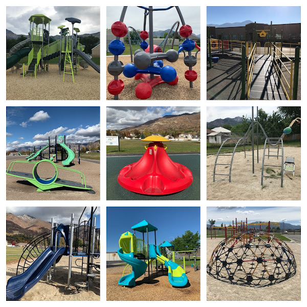 30 WEBER SCHOOL DISTRICT SCHOOLS WITH PLAYGROUNDS
