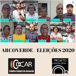 ELEIÇÕES 2020 - ARCOVERDE - CULTURA EM DEBATE