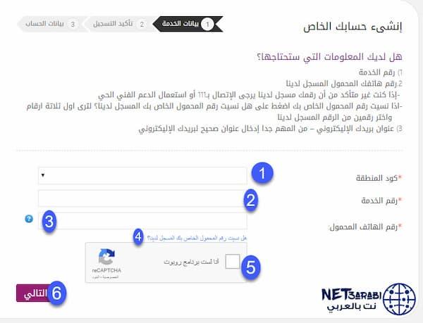 معرفة فاتورة النت tedata والقيمة المتبقية من الانترنت تى داتا