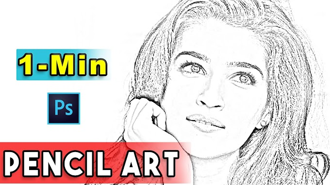 How to Convert Image into Pencil Sketch in Photoshop CC