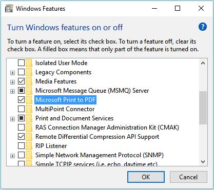 Hilangkan fitur tidak penting di windows 10 64bit
