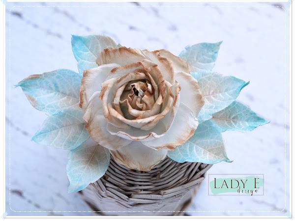Silk Foam Vintage Rose