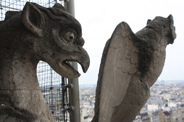 More Gargoyles at Notre Dame