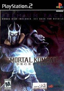 Mortal Kombat Deception Premium Pack Bonus Disc PS2 ISO