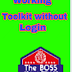 How To Use Tookit withou Login 2018 By Pakurduworld