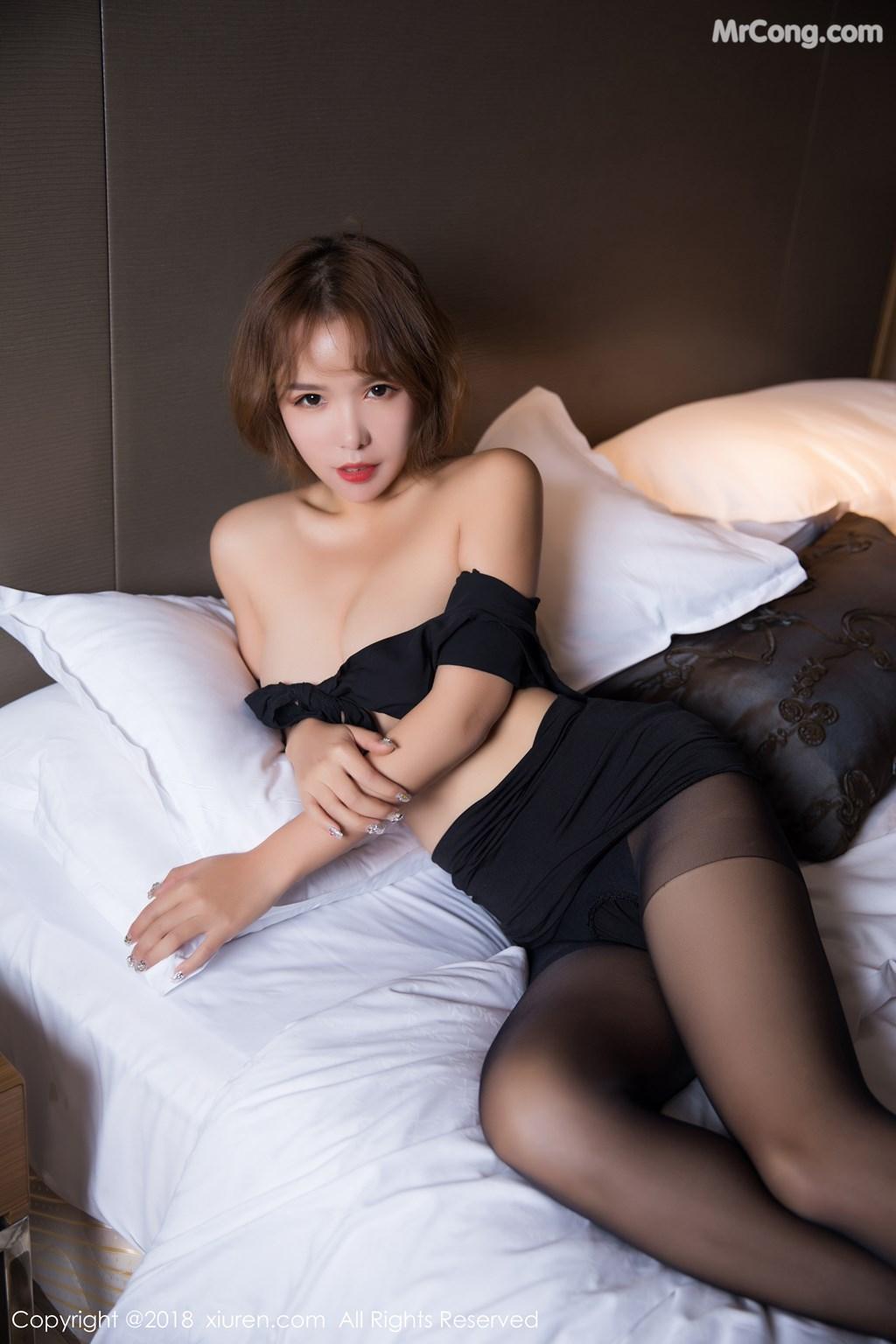 Image XIUREN-No.1264-Ya-Wen-MrCong.com-046 in post XIUREN No.1264: Người mẫu Ya Wen (雅雯) (61 ảnh)