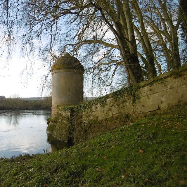 La Tourelle, Chateau des Ormes, Vienne, France. Photo by Loire Valley Time Travel.