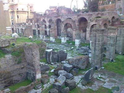 Ruínas de Roma antiga - Itália