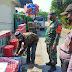 Cegah penyebaran Covid-19 Babinsa Karangdowo Bersinergi Tegakan Prokes hajatan