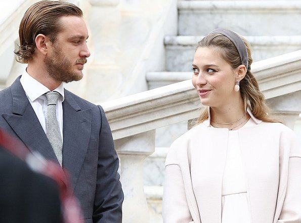 Beatrice Borromeo gave birth to a son at Princess Grace Hospital in Monaco. Matilde Borromeo (Matilde Borromeo is Beatrice's sister).