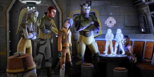 Star Wars Rebels renewed