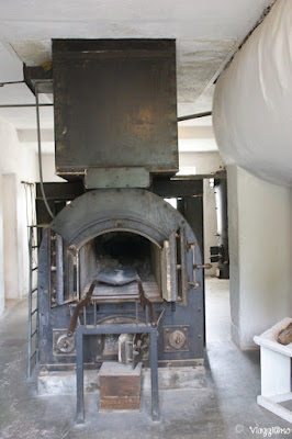 Il forno crematorio presente nel Campo di Concentramento di Natzweiler-Struthof