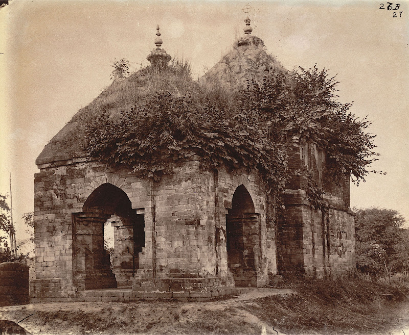 Temple at the West End of the Village of Para, Manbhum District (Now in Purulia District), Bengal - 1872