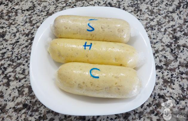 salchichas de pollo caseras