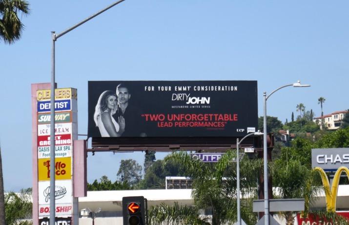Dirty John 2019 Emmy FYC billboard