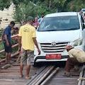 Jembatan Desa Semangus Rusak Parah, Ini Tanggapan Anggota DPRD PALI