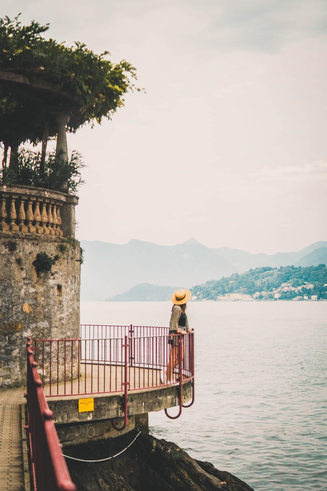 blog voyage lac de come