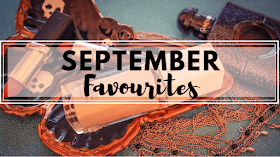 Laura's september favourites on top of a moth shaped plate