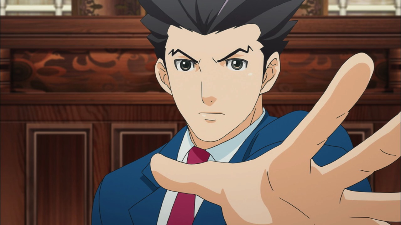 Ace attorney the phrase video game anime adaptation is enough to strike fear into anyones hearts although the list of great anime series based on