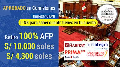 APROBADO Retiro 100% AFP LINK