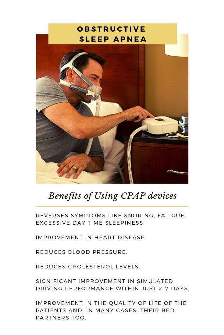 Benefits of using CPAP machines