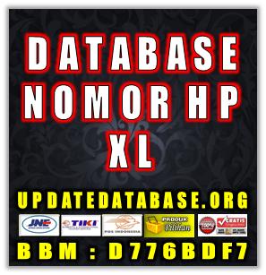 Jual Database Nomor Handphone Khusus Operator XL