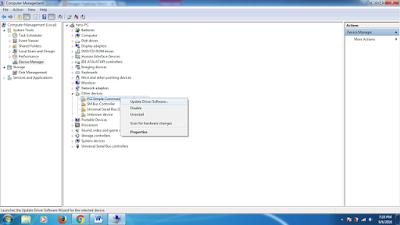 Cara mengecek driver yang belum terinstal pada windows 7