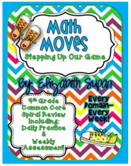Fun In Room 4B's Math Moves with Ideas by Jivey