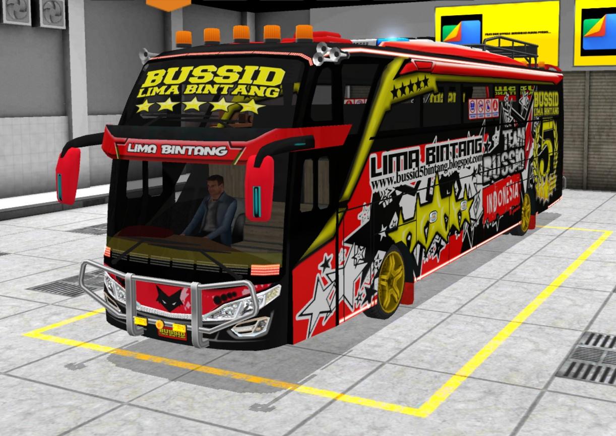 Livery Bussid Shd Bus Sumatra Arena Modifikasi