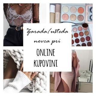 Zarada/ušteda novca pri online kupovini