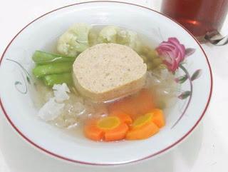 resep sup galantin khas solo