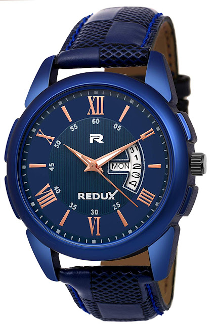 Redux Analogue Blue Dial