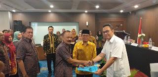 Gubernur Jambi Melantik Dan Mengukuhkan Anggota TKPSDA WS Pengabuan Lagan Periode 2020-2024.
