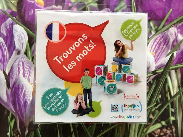 Recenzja #147 - Trouvons les mots ! - opakowanie gry - Francuski przy kawie
