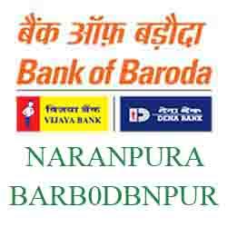 New IFSC Code Dena Bank of Baroda NARANPURA