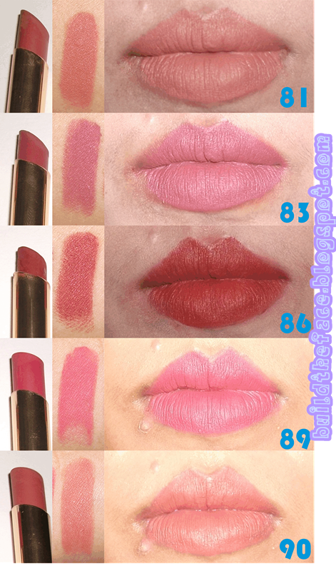 build the face Review Lipstick Matte Purbasari
