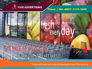 Stiker Kaca Jakarta Timur