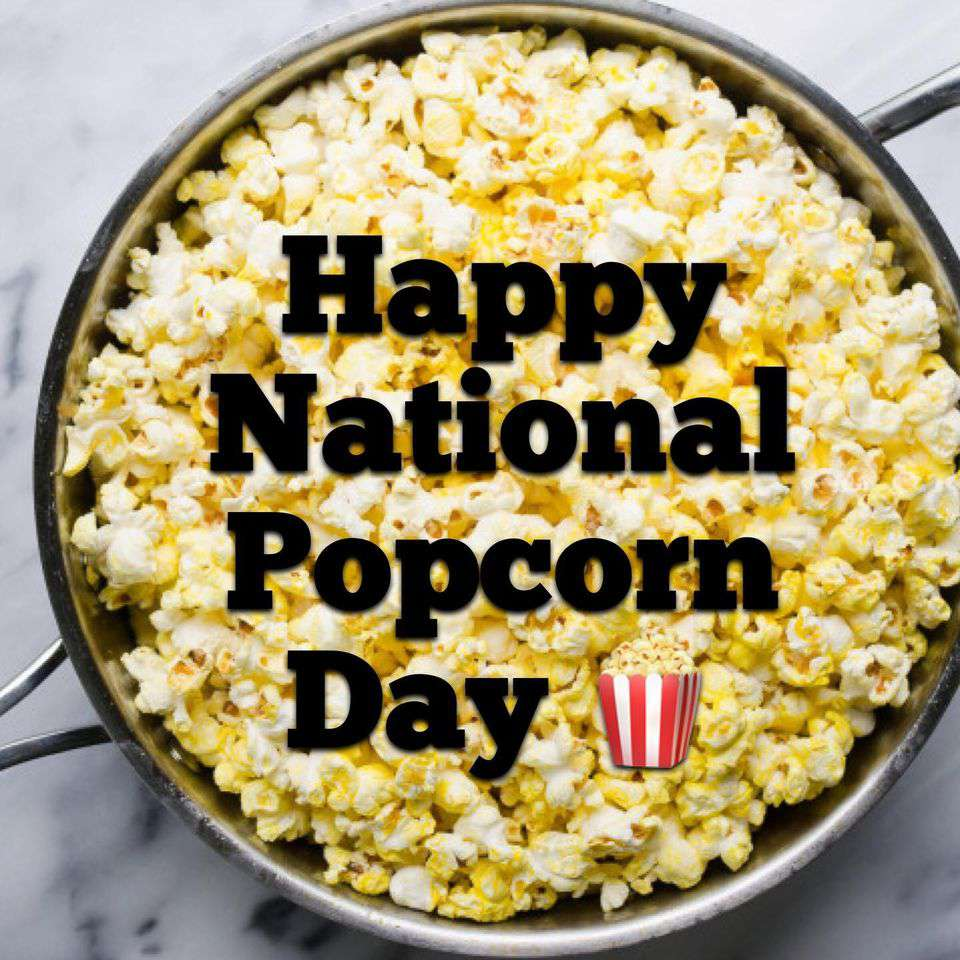 National Popcorn Day Wishes Sweet Images