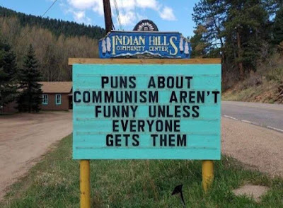 Puns about communism aren't funny unless everyone gets them