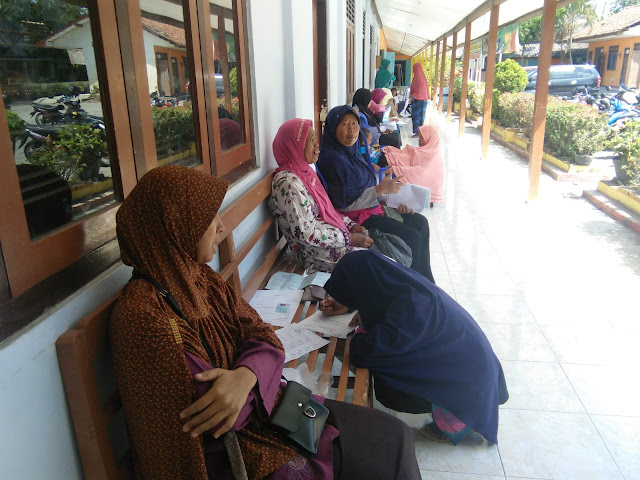 Dandim Klaten Gandeng Dinas Catatan Sipil Kab Klaten Untuk Layani Warga Desa Jimbung