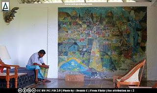 Donald Friend mural