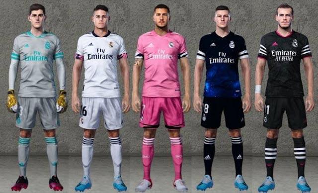 Real Madrid Leaked Kits 2020-21 PES 2020