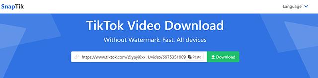 Cara Menghilangkan Watermark TikTok Secara Online Dengan SnapTik