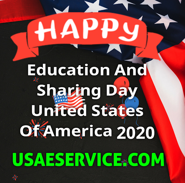 Education And Sharing Day U.S.A.
