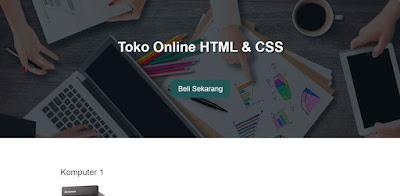 Cara Membuat Website Toko Online dengan HTML