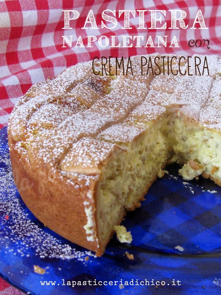 Pastiera Napoletana con crema pasticcera - la pasticceria di chico