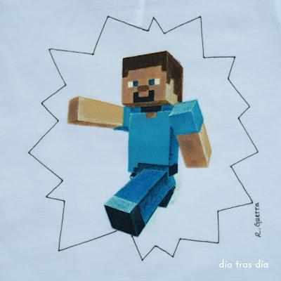 Camiseta Minecraft