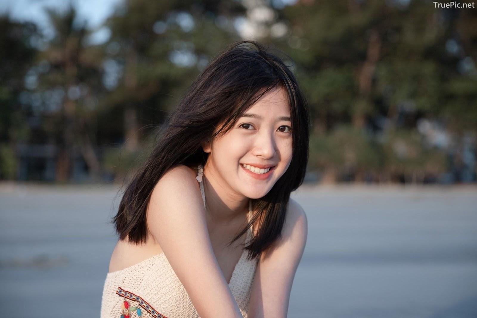 Thailand hot girl Purewarin Kosiriwalanon - Pure beauty and lovely with wool bikini - Picture 1